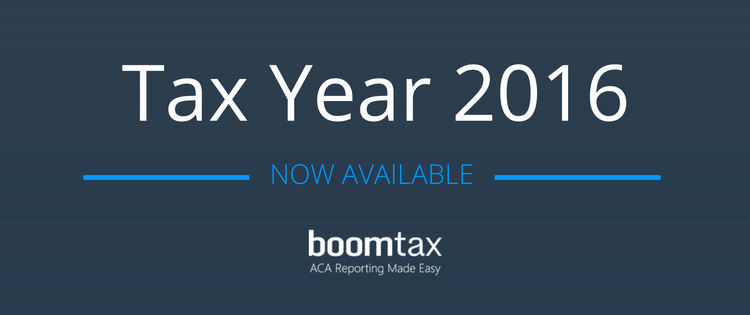BoomTax Releases Affordable Care Act Filing for Tax Year 2016